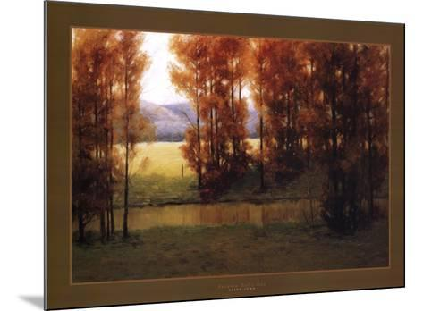 Autumn Reflection-Alan Lund-Mounted Art Print