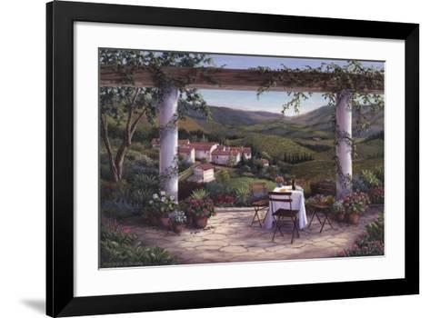Afternoon in the Vineyard-Barbara Felisky-Framed Art Print