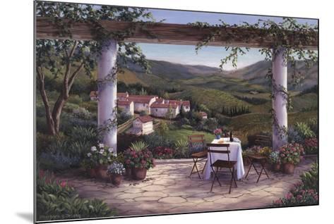 Afternoon in the Vineyard-Barbara Felisky-Mounted Art Print
