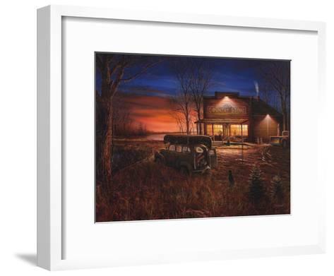 Patiently Waiting-Jim Hansel-Framed Art Print