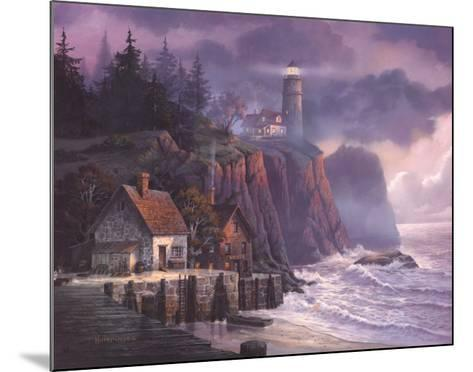Harbor Light Hideaway-Michael Humphries-Mounted Art Print