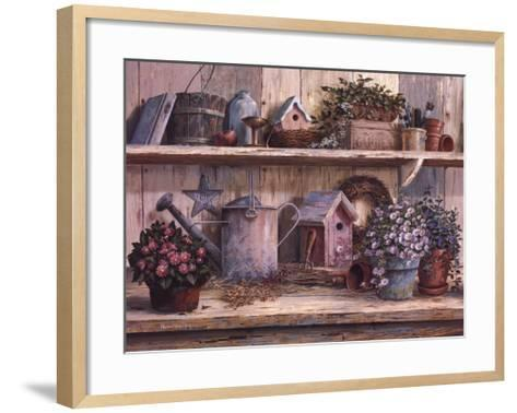 Rhapsody in Rose-Michael Humphries-Framed Art Print