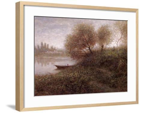 Ferryman-Jon McNaughton-Framed Art Print
