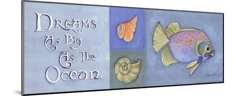 Dreams As Big As The Ocean-Stephanie Marrott-Mounted Art Print