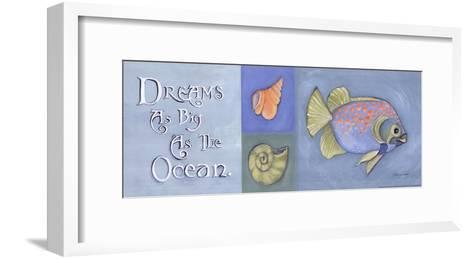 Dreams As Big As The Ocean-Stephanie Marrott-Framed Art Print