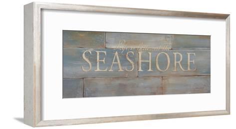 Life Is Better At The Seashore-Stephanie Marrott-Framed Art Print