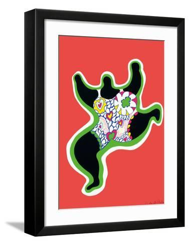 Leaping Nana, part of the series Nana Power, 1970-Niki De Saint Phalle-Framed Art Print
