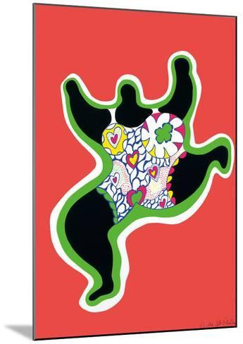 Leaping Nana, part of the series Nana Power, 1970-Niki De Saint Phalle-Mounted Art Print
