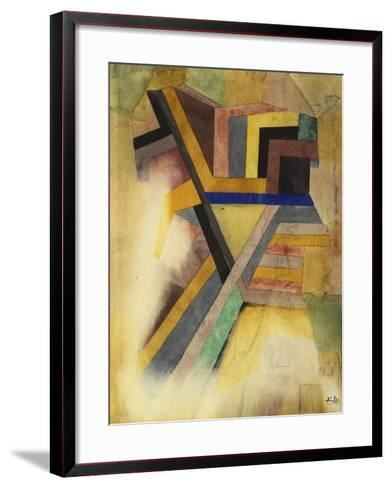 Abstract Painting-Paul Klee-Framed Art Print
