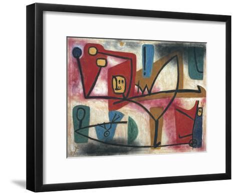 Arrogance-Paul Klee-Framed Art Print