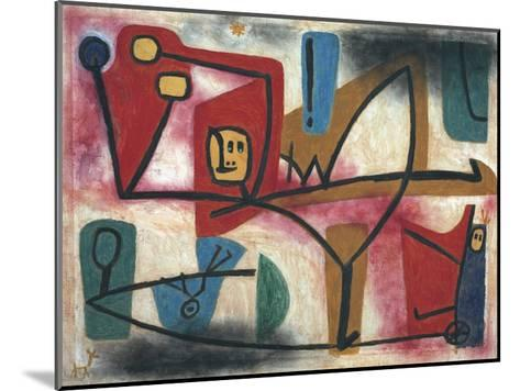Arrogance-Paul Klee-Mounted Art Print