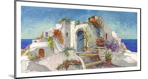 Casa nelle Cicladi-Luigi Florio-Mounted Art Print