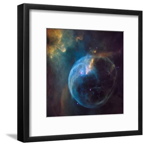 Bubble Nebula (NGC 7635)--Framed Art Print