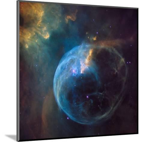 Bubble Nebula (NGC 7635)--Mounted Art Print