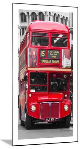 Double-Decker bus, London-Pangea Images-Mounted Art Print