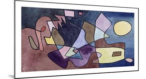 Dramatic Landscape-Paul Klee-Mounted Art Print