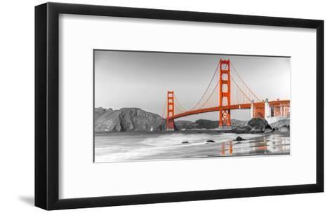 Golden Gate Bridge, San Francisco--Framed Art Print
