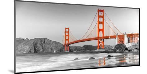 Golden Gate Bridge, San Francisco--Mounted Art Print
