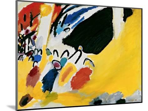 Impression III (Concert)-Wassily Kandinsky-Mounted Art Print