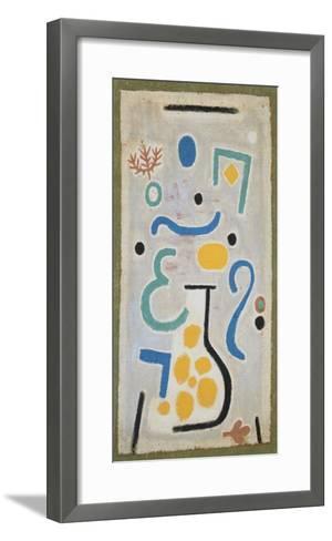 Die Vase-Paul Klee-Framed Art Print
