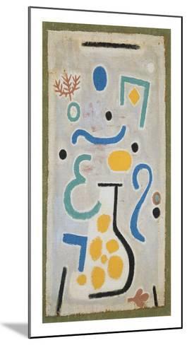 Die Vase-Paul Klee-Mounted Art Print