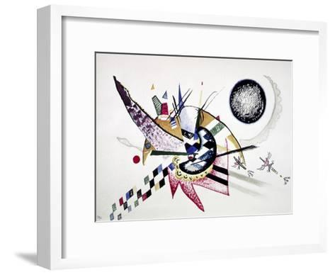 Watercolor Painting of Composition-Wassily Kandinsky-Framed Art Print