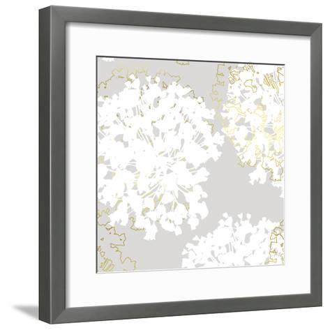 Stencil In Bloom II-Myriam Tebbakha-Framed Art Print