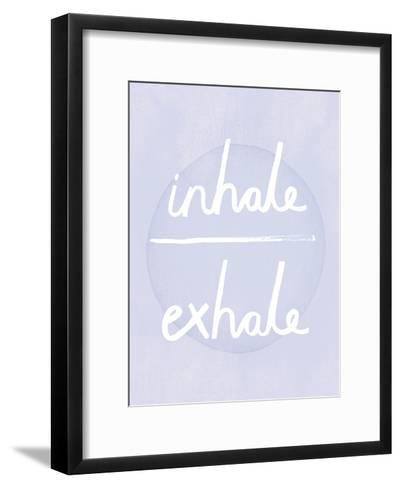 Prana - Inhale - Exhale-Sasha Blake-Framed Art Print