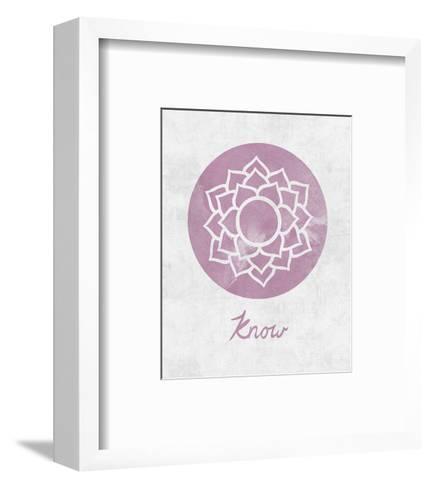 Chakra - Know-Sasha Blake-Framed Art Print