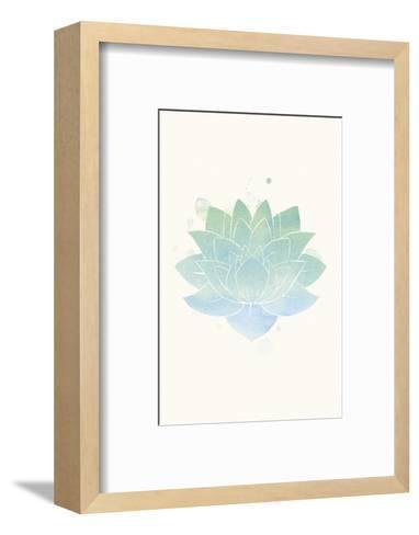Mindfulness - Lotus-Sasha Blake-Framed Art Print