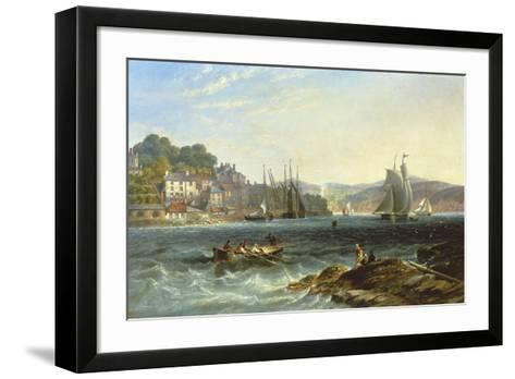 Rough Seas-James Wilson Carmichael-Framed Art Print