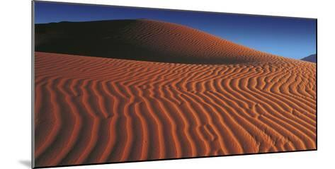 Namibian Dunes-Chris Simpson-Mounted Giclee Print