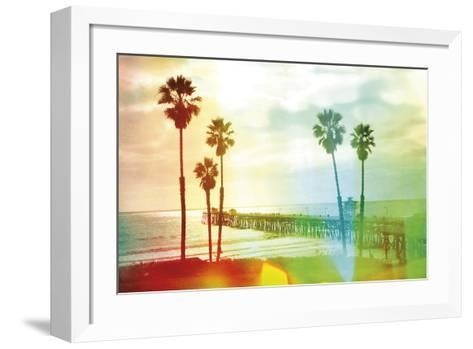 California Cool - Beach-Chuck Brody-Framed Art Print