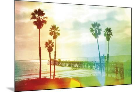 California Cool - Beach-Chuck Brody-Mounted Giclee Print
