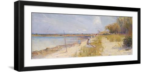 Rickett's Point-Charles Conder-Framed Art Print