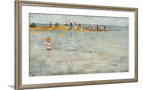 Rickett's Point, Beaumaris, Sandringham-Charles Conder-Framed Art Print