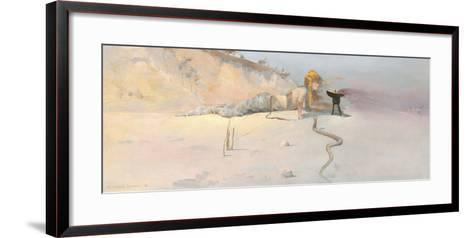Hot Wind-Charles Conder-Framed Art Print