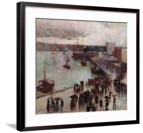 Departure of the Orient-Charles Conder-Framed Art Print