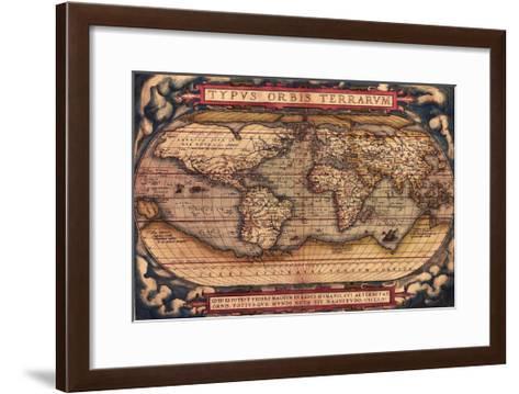 TYPVS ORBIS TERRARVM-Bill Cannon-Framed Art Print