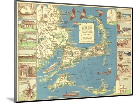 Decorative Cape Cod-Bill Cannon-Mounted Giclee Print