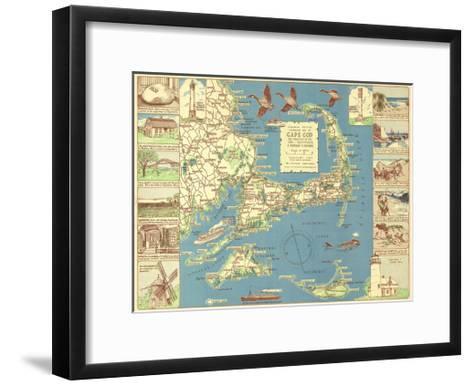 Decorative Cape Cod-Bill Cannon-Framed Art Print