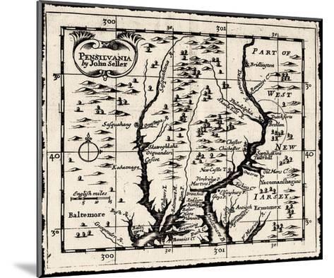 Pensilvania-Bill Cannon-Mounted Giclee Print