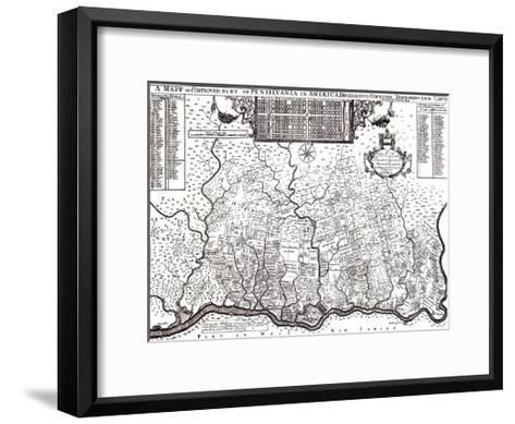 PA-Bill Cannon-Framed Art Print