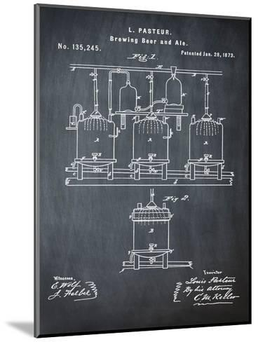 Pasteur Chalk-Bill Cannon-Mounted Giclee Print