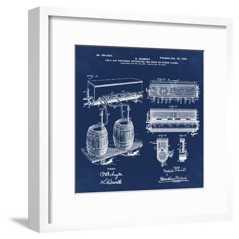 Schmidts Tap 1900 Blue-Bill Cannon-Framed Art Print