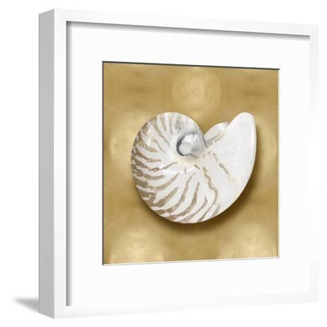 Ocean Gem on Gold III-Caroline Kelly-Framed Art Print