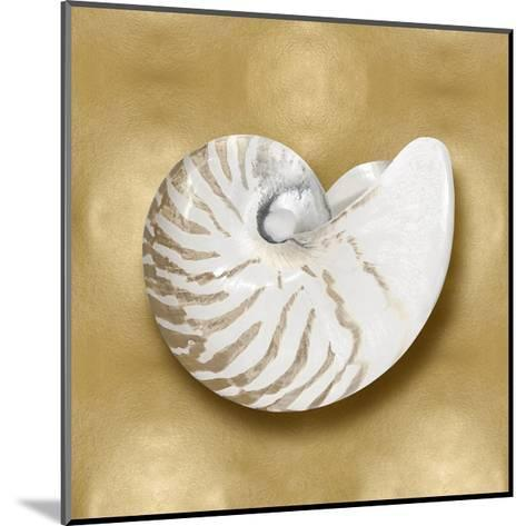 Ocean Gem on Gold III-Caroline Kelly-Mounted Giclee Print