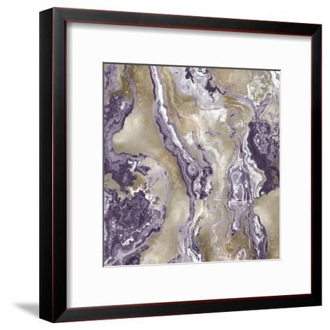 Onyx Amethyst-Danielle Carson-Framed Art Print