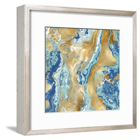 Onyx Aqua-Danielle Carson-Framed Art Print