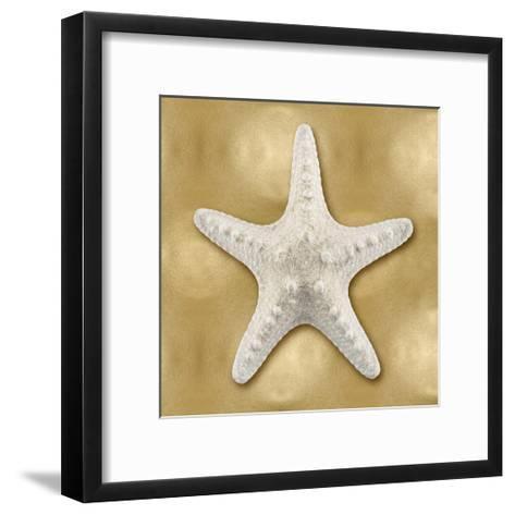 Ocean Gem on Gold VI-Caroline Kelly-Framed Art Print